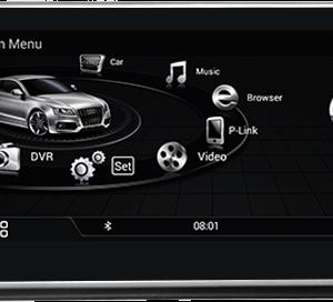 מערכת מולטימדיה לרכב audi