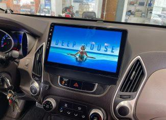 התקנת מולטימדיה לרכב יונדאי ix35